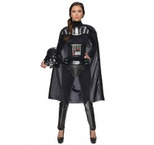 Star Wars Darth Vader Female Adult Bodysuit - Large