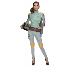 Star Wars Boba Fett Female Adult Bodysuit - Large