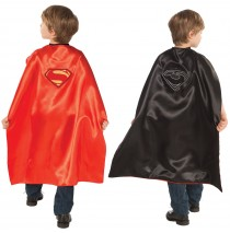 Superman-Man of Steel-Superman/General Zod Reversible Cape - One-Size