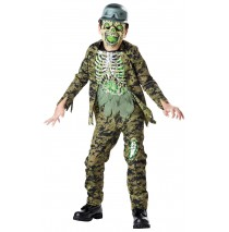 Nuclear Soldier Zombie Child Costume - Small (4-6)
