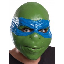 Teenage Mutant Ninja Turtle Leonardo 3/4 Adult Mask - One-Size Fits Most