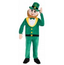Leprechaun Mascot Adult Costume - Standard One-Size