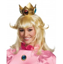 Super Mario Bros. - Princess Peach Wig - One-Size