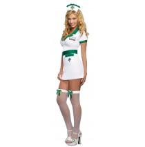 Nurse Anita Reefer Adult Costume - Small (2-6)