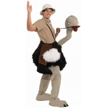Ride On Ostrich Mascot - Standard One-Size