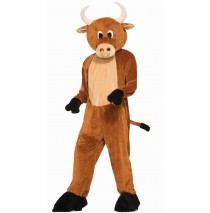 Brutus The Bull Mascot - Standard One-Size