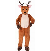 Reindeer Mascot Adult - Standard One-Size