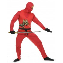 Red Ninja Avengers Series II Adult Costume - Large