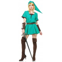 Elf Warrior Princess Adult Costume - Small