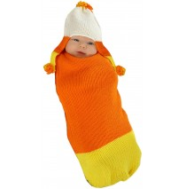 Candy Corn Baby Bunting - 0-3 Months
