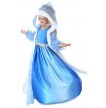 Snow Queen Gown and Cape - X-Small (4)