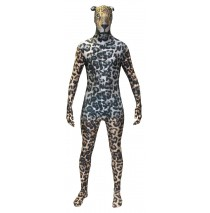 Animal Planet Jaguar Morphsuit Adult Costume - Large