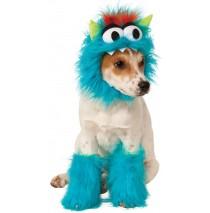 Blue Monster Pet Costume - Medium
