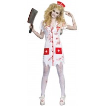 Working the Graveyard Shift Nurse Adult Costume - Small