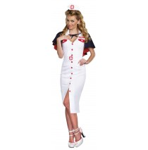 Night Nurse Adult Costume - Small
