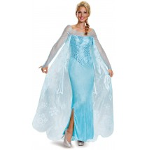 Frozen: Elsa Prestige Adult Costume Plus - XL (18-20)