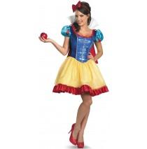 Disney Princess Snow White Fab Deluxe Adult Costume Plus - 18-20