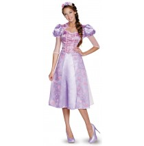 Disney Princess Rapunzel Deluxe Adult Costume Plus - XL (18-20)