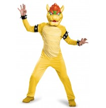 Super Mario Bros: Bowser Deluxe Child Costume - S (4-6)
