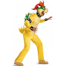 Super Mario: Bowser Deluxe Adult Costume Plus - XL (42-46)