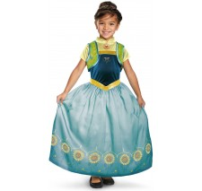 Anna Frozen Fever Deluxe Toddler Costume - Toddler (3T-4T)