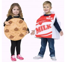 Cookies and Milk Toddler Costume - 3T-4T