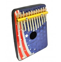 American Flag 12 Note Thumb Piano