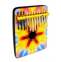 Tie Dye 12 Note Thumb Piano
