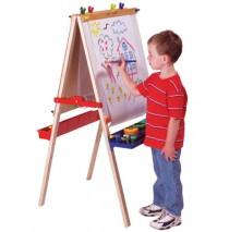 Melissa & Doug Deluxe Standing Easel & Chalkboard