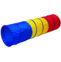 Fine Me Multi Color 6' Tunnel by Pacific Play Tents