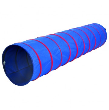 Institutional 9FT X 22IN Tunnel - BLUE/RED Pacific Play Tents - 20513-tunnel-360x365.jpg