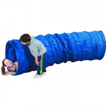 Institutional 9FT X 28IN TUNNEL - BLUE/BLUE - Pacific Play Tents