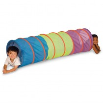 Institutional See-Thru Multi-Color 6-ft Tunnel - Pacific Play Tents