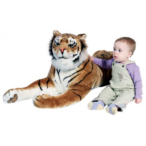 Giant Stuffed Animals By Melissa Amp Doug Giant Plush Tiger