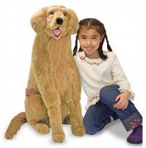 Melissa & Doug - Plush Golden Retriever Dog