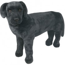 Melissa & Doug - Plush Black Lab Dog