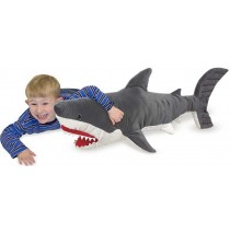 Melissa & Doug Shark Plush Stuffed Animal