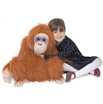 Melissa & Doug Orangutan Plush Stuffed Animal