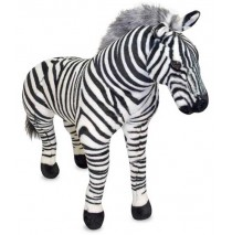 Melissa & Doug Zebra Plush Stuffed Animal