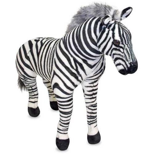 Zebra Plush Stuffed Animal By Melissa Amp Doug
