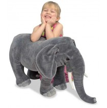 Melissa & Doug Elephant Plush Stuffed Animal