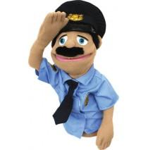 Melissa & Doug Hand Puppet - Police Officer