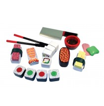 Melissa & Doug Wood Sushi Slicing Box