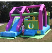 3 in 1 Bounce and Slide Commercial Bounce House