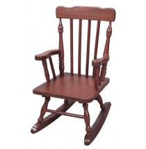 Child's Colonial Spindle Rocking Chair Cherry