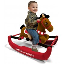 Radio Flyer Soft Rock & Bounce Pony w/Sound Model 354