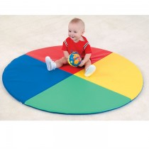 Children's Factory Four Color Pie Activity Mat