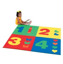 1-2-3-4 Mat (5 foot square) by Childrens Factory