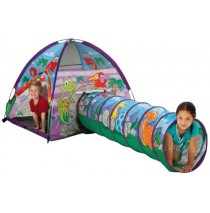 Dinosaur Tent & Tunnel Combo by Pacific Play Tents