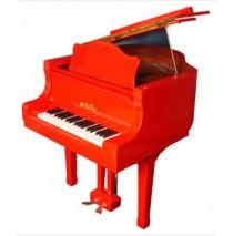 Schoenhut String Baby Grand 44 Key - Red